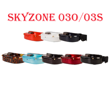 Skyzone SKY03O Oled /SKY03S 5.8GHz 48CH Diversity FPV Goggles Support OSD DVR HDMI & Head Fan LED For RC Drone Accs