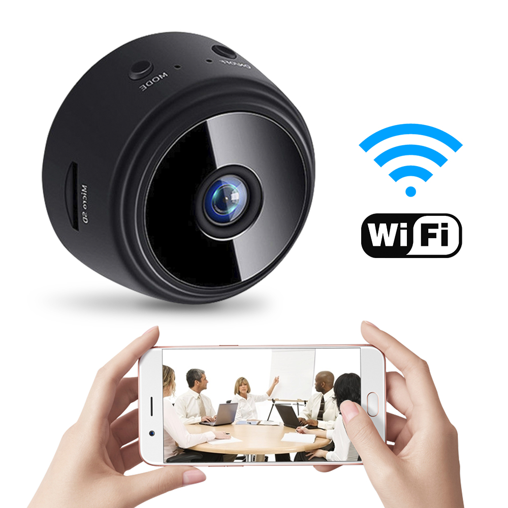 H1827d888758f4a9babf7063459e7737du 1080P HD Mini WIFI IP Camera Wireless Hidden Home Security Dvr Night Vision Motion Detect Mini Camcorder Loop Video Recorder