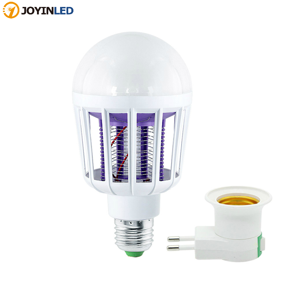 AC 220V Electronic Mosquito Killer Lamp E27 9W 15W LED Light Bulbs Home Lighting Bedroom Anti-mosquito Lights