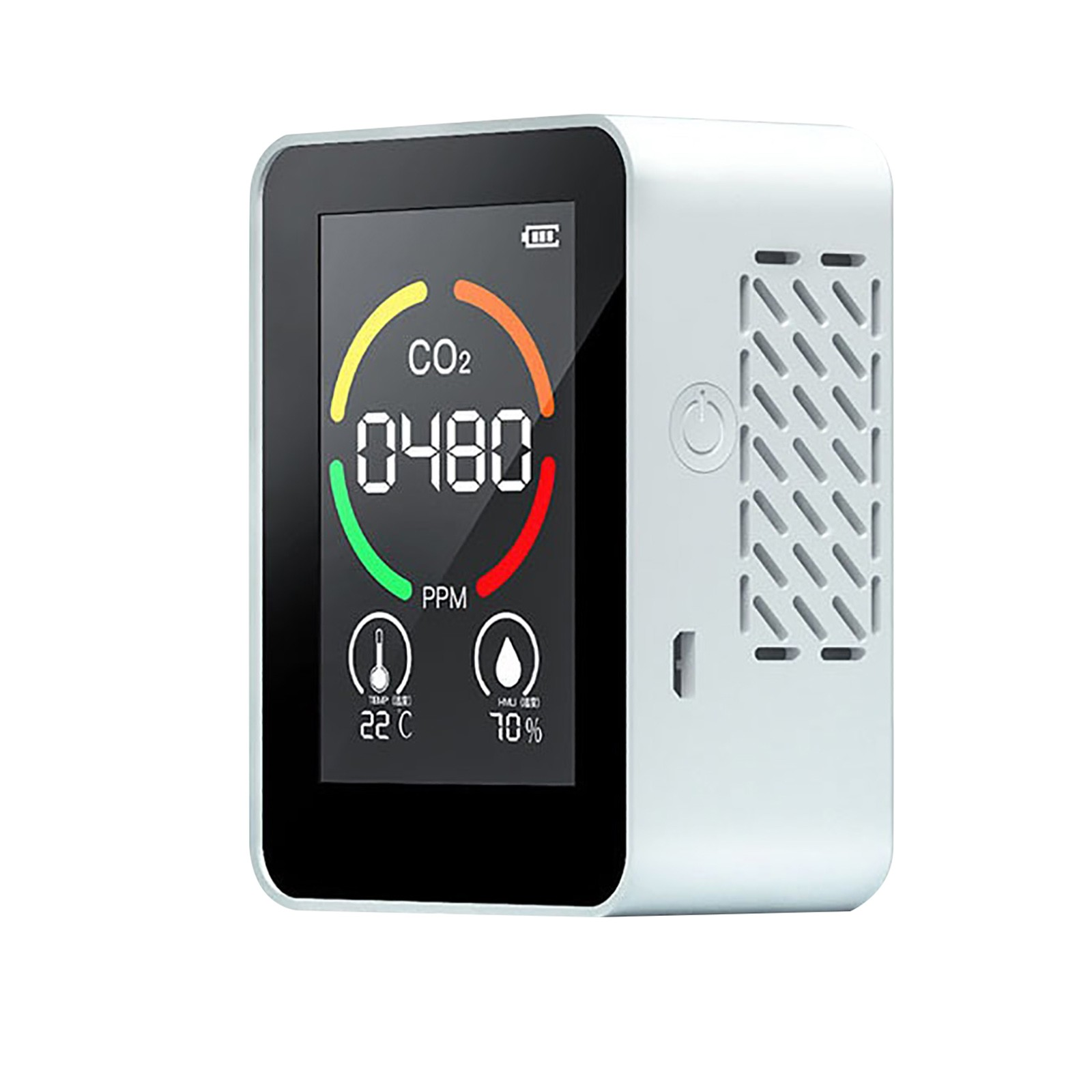 3-in-1 Air Quality Detector Rechargeable Carbon Dioxide Detector Lcd Digital Co2 Meter Tvoc Dioxide Tester Gas Analyzer