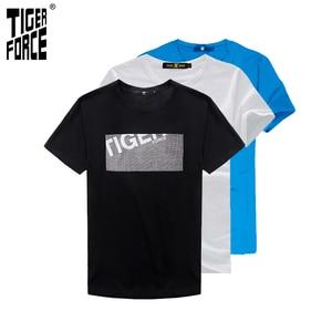 Image 3 - Şanslı paketi büyük satış büyük indirim sıralama serbestçe 3 adet/takım % 100% pamuk kısa kollu T Shirt erkek giyim
