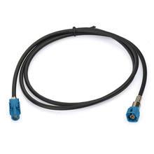 USB-кабель FAKRA HSD LVDS ДЛЯ BMW, Mercedes, 1 м, гнездовой, мужской, 4-ядерный, Dacar 535