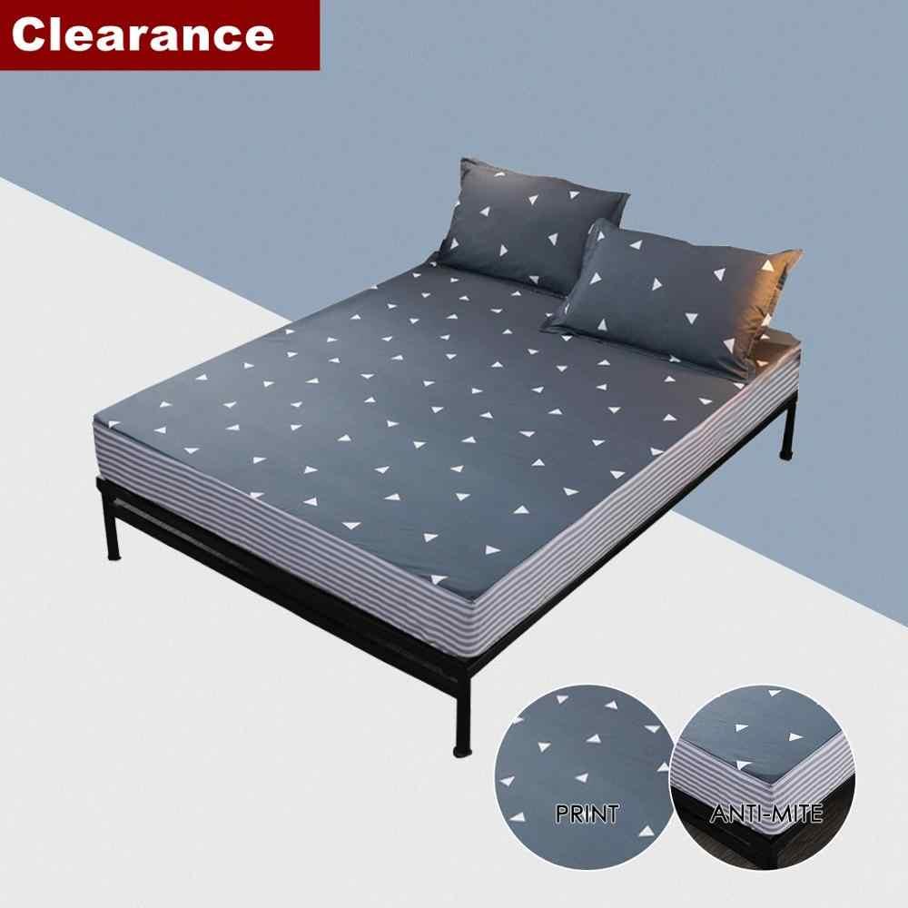 Bed Sheet Fitted Sheet Set Queen Single Mattress Cover Bed Linen
