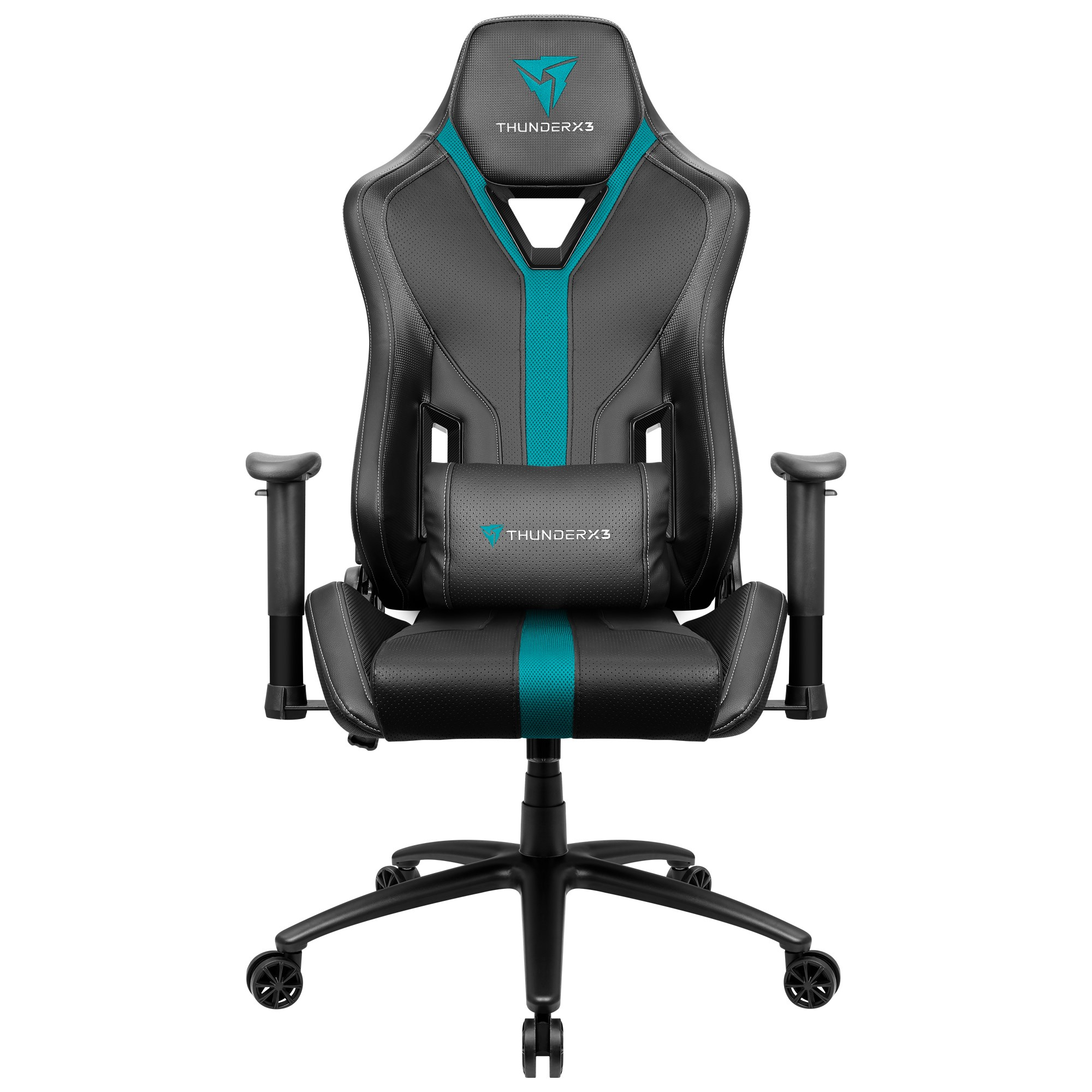 ThunderX3 YC3, Gaming Chair, Technology AIR, Breathable And Adjustable, Cyan