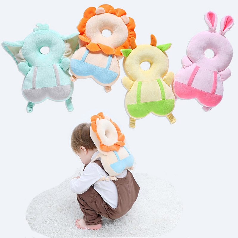 Head Pillow Protection Of Newborn Baby Head Pillow Infant Toddler Sleep Positioner Cute Wing Shape Baby Anti Fall Cushion