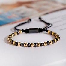 Clássico masculino feminino pulseira 4mm cobre frisado charme pulseira pulseira ajustável pulseira moda jóias presente