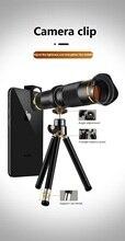 38X กล้องโทรทรรศน์ซูมเลนส์ Monocular กล้องโทรศัพท์มือถือเลนส์สำหรับ iPhone Samsung Android สมาร์ทโฟน