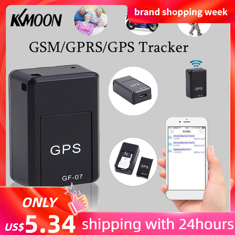 KKMOON Car Tracking-Device Gps-Tracker Positioning Satellite Against GF07 Mini GSM/GPRS