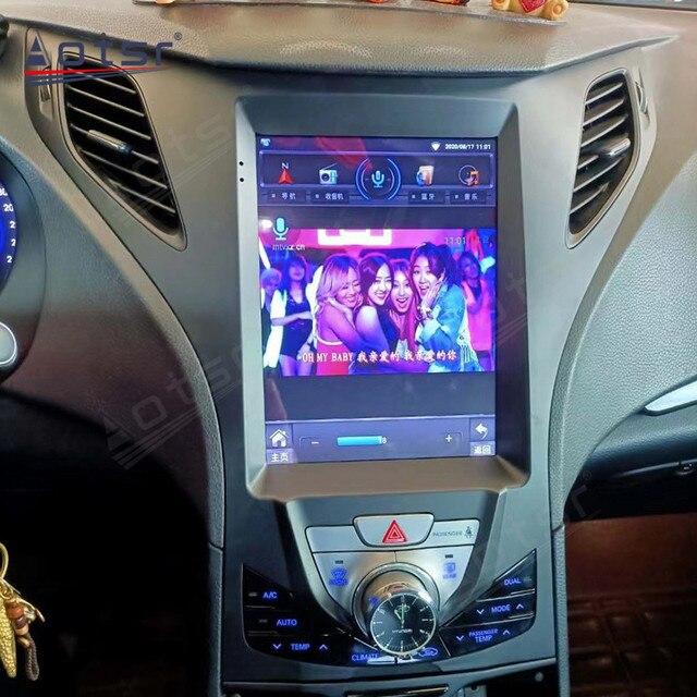 6GB + 128GB Tesla écran pour Hyundai AZERA Grandeur autoradio GPS Navigation Audio Android 10 multimédia DVD lecteur vidéo stéréo