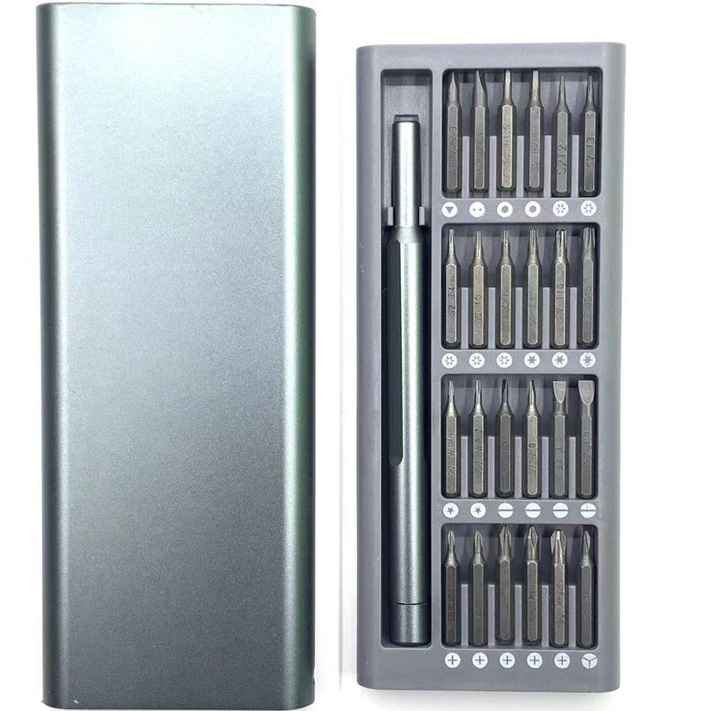 Precision Magnetic Bits 25 In 1 Screwdriver Set For Xiaomi Apple Phone Disassembly Tool Screwdriver Notebook Repair Combination