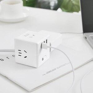 Image 3 - Original Xiaomi Mijia Magic Cube 2 In 1 USB Charger Power Strip Adapter 6พอร์ตSocket Converterพื้นที่ประหยัดพลังงานปลั๊กOutlet