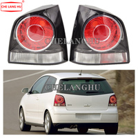 For VW POLO 9N 9N3 GTI Hatchback 2005 2006 2007 2008 2009 2010 Car styling Rear Left Right Tail Light Lamp Housing NO Bulbs