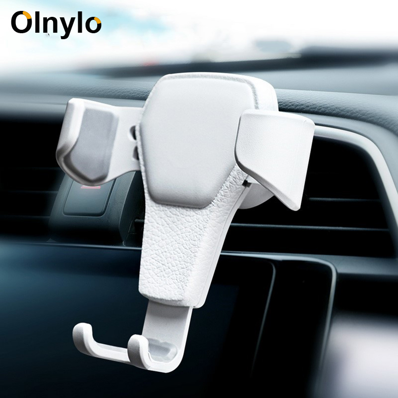 Car Phone Holder Gravity Car Air Vent Mount In Car For IPhone XR X 8 11 Pro Max Phone Stand Support Smartphone Mobile Holder