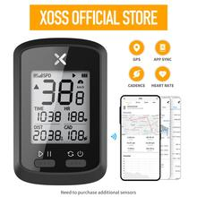 Xoss Gps Fietscomputer G + Draadloze Fietsen Snelheidsmeter Racefiets Mtb Waterdicht Bluetooth Ant + Cadence Speed Fiets Computer