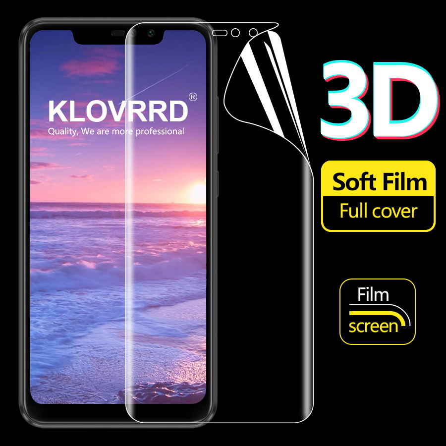 Full Cover Screen Protector For Xiaomi Mi 9T 9 A3 CC9e CC9 Redmi Note 8 7 6 5 K20 Pro Global Hydrogel Film TPU Silicone Sticker