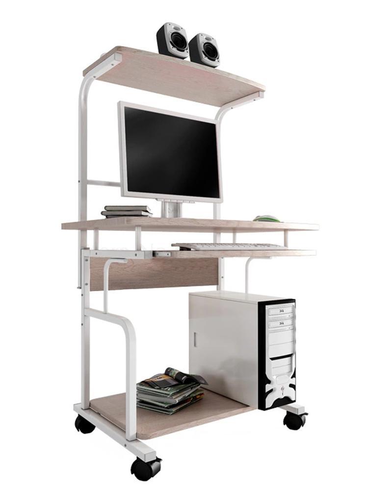 Простой компьютерный стол, маленький рабочий стол, пространство, спальня, мобильный стол, дом
