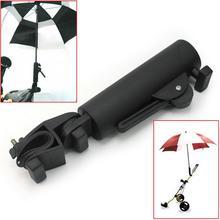 Тележки для гольфа, держатель для зонта, PP пластик, регулируемая Поворотная подставка для зонта, подставка для детской коляски, корзина для рыбалки, велосипедный кронштейн