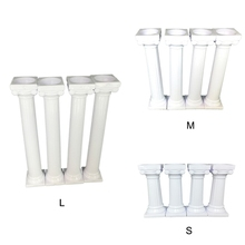 4PCS Large Roman Column Multi-layer Cake lightweight Support For Wedding Party Decoration
