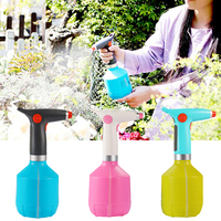 Home Rechargeable Plant Rotation Washing Car Watering Sprayer Multi Use Automatic Garden Anti Fall Electric Adjustable Nozzle|Sprayers| |  -
