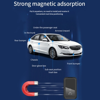 2021 New GF22 Car GPS Tracker Strong Magnetic Small Location Tracking Device 5