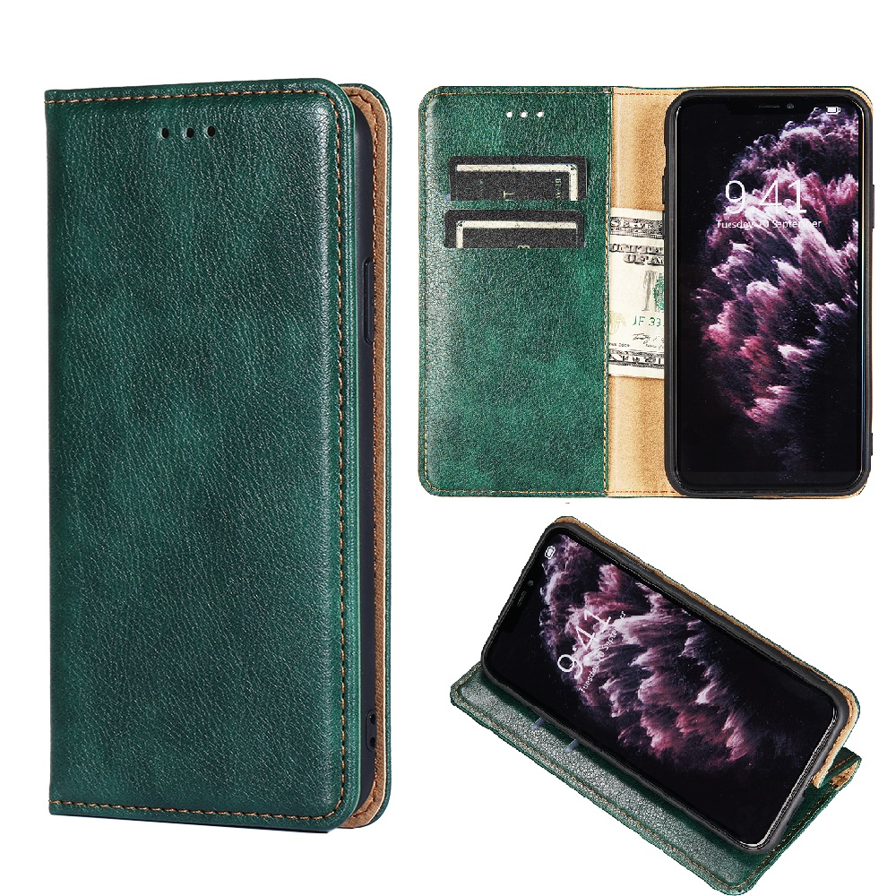 Leather <font><b>Wallet</b></font> Flip Phone Protective <font><b>Case</b></font> for <font><b>OPPO</b></font> RX17 Pro R17 Realme 2 <font><b>A5</b></font> A3S R15 Neo A73S Cover with Magnet Card Slot Holder image