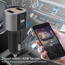 Автомобильный MP3-плеер, Bluetooth, fm-передатчик, набор, Hands-Free, 3.1A, двойное USB Автомобильное зарядное устройство, автомобильные аксессуары, беспроводной, в автомобиль, mp3 радио, адаптация