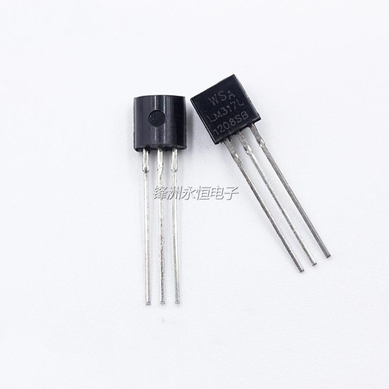 10pcs New LM317L Adjustable Three-terminal Regulator Direct Plug TO92 WS LM317LZ LM317