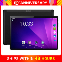 2020 New 10 inch 4G LTE Phone Call Quad Core 2GB RAM 32GB ROM Android tablets PC 3000mAh 1280*800 IPS Dual Cameras Wifi A GPS
