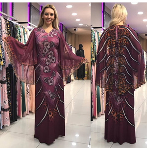 Image 2 - فساتين أفريقية للنساء ملابس أفريقيا مسلم فستان طويل طول موضة فستان أفريقي لسيدة