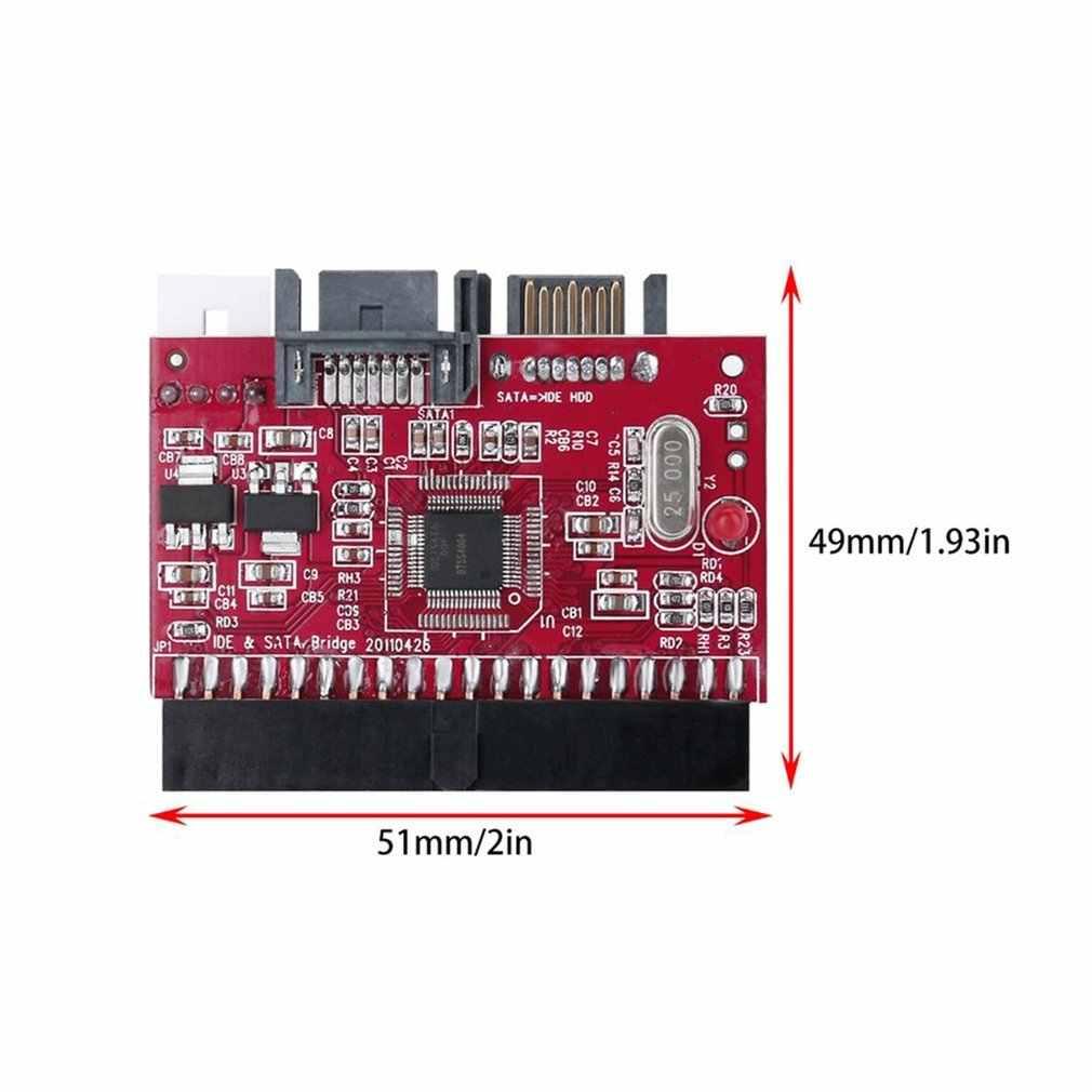 耐久性のあるide hdd sataシリアルata変換アダプタハードディスクドライバサポートata 133 100 hdd cdアダプタ