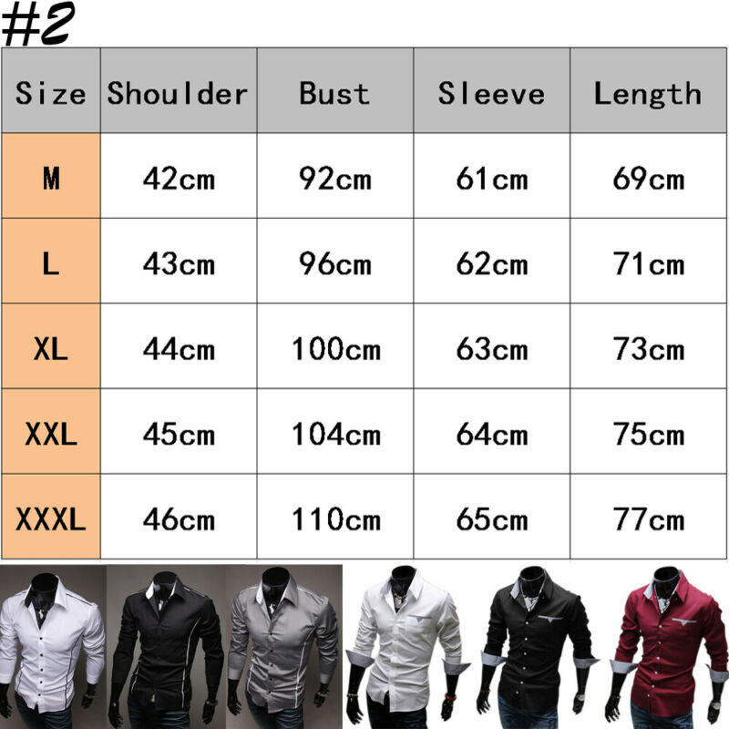 Luxury 2019 Men Casual Long Sleeved Shirts Slim Fit Male Social Business Dress Shirt Brand Men Clothing Camisas Para Hombre hot 5