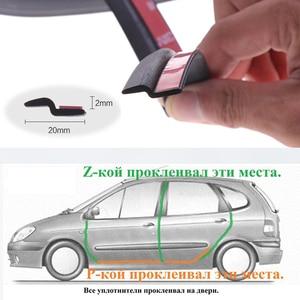 Image 5 - Tira de sellado en forma de Z para puerta de coche, burlete de aislamiento acústico, burlete de goma, embellecedor, sellos de goma automáticos
