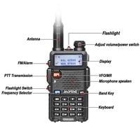 מכשיר הקשר 2pcs Baofeng DM-5R מכשיר הקשר Tier1 & 2 Professional Band Dual DMR רדיו דיגיטלי אנלוגי Dual Mode Dual זמן חריץ Walky טוקי (2)