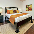 Набор из 8 тяжелых подъемников для кровати, регулируемая высота-3/5/8 дюйма, дополнительная домашняя система хранения