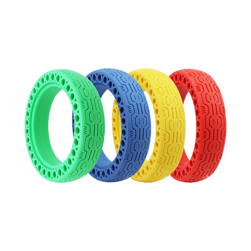 For Xiaomi M365 Electric Scooter Tires Shock Absorber Hollow Solid Tyre Non Pneumatic Tire Wheel Tire for Xiaomi Mijia M365 Pro|Scooter Parts & Accessories| |  - title=