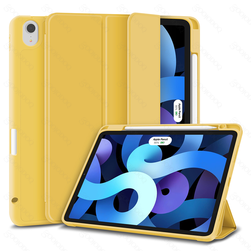 iPad Silicone 10.9 For Case air Case Air Smart for ) Inch 2020 Generation iPad 4 (4th