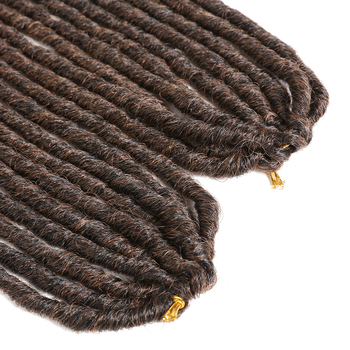 X-TRESS 18-26inch Soft Dreadlocks Crochet Braids Jumbo Dread Hairstyle Ombre Color Synthetic Faux Locs Braiding Hair Extensions 1