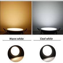 6w/12w/18w LED Round Downlight Store Exhibition Ultra thin Led Sturdy Room Flashlight Office Slim Panel Light