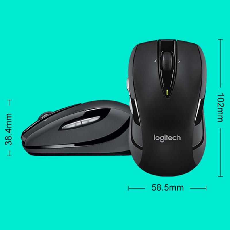 Image 4 - Logitech M545/M546 2.4GHz Wireless Laser Mouse Ergonomic Optical Gaming 1000 DPIMice for Laptop Desktop PCMice