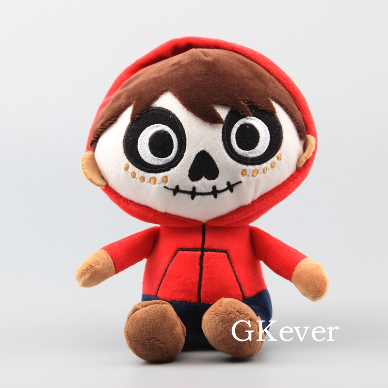 20cm Movie Miguel Plush Toys Doll <font><b>Peluche</b></font> Stuffed Soft Dolls Cute Funny Kawaii Keychain Pendant Hot Sale Women Kids Gift image