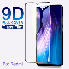 9D Full Protective Glass For Xiaomi Redmi 8 8A 7 7A K30 Tempered Screen Protector on Redmi Note 7 8 8T 9S 9 Pro Max Glass Film