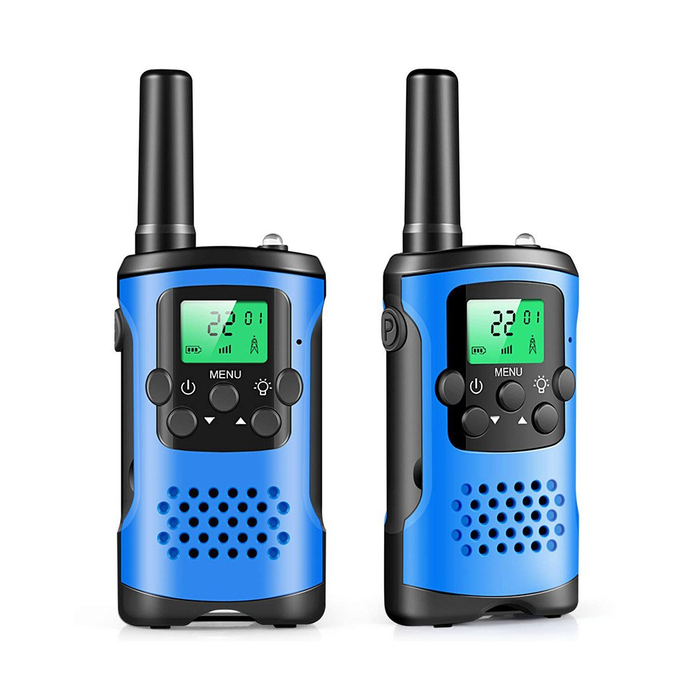 2Pcs Two Way Radio Kids Walkie Talkie Mini Children's Outdoor Self Driving Walkie Talkie Gadget Up To 3km