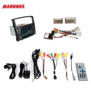 "Image 5 - Marubox KD7054 רכב נגן DVD עבור מיצובישי פאג רו IV 2006 +, 7 ""מסך IPS עם DSP, GPS ניווט, Bluetooth, Wifi, אנדרואיד 10"