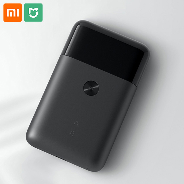 Xiaomi Mijia portátil Mini para hombre maquinilla de afeitar eléctrica cuerpo de Metal USB tipo C Japón cabeza de corte de acero Batería grande para limpieza facial