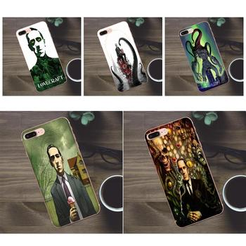Soft New Fashion Cool Lovecraft Film Festival For Apple iPhone X 4 4S 5 5C SE 6 6S 7 8 Plus Galaxy A3 A5 J1 J2 J3 J5 J7 2017 image