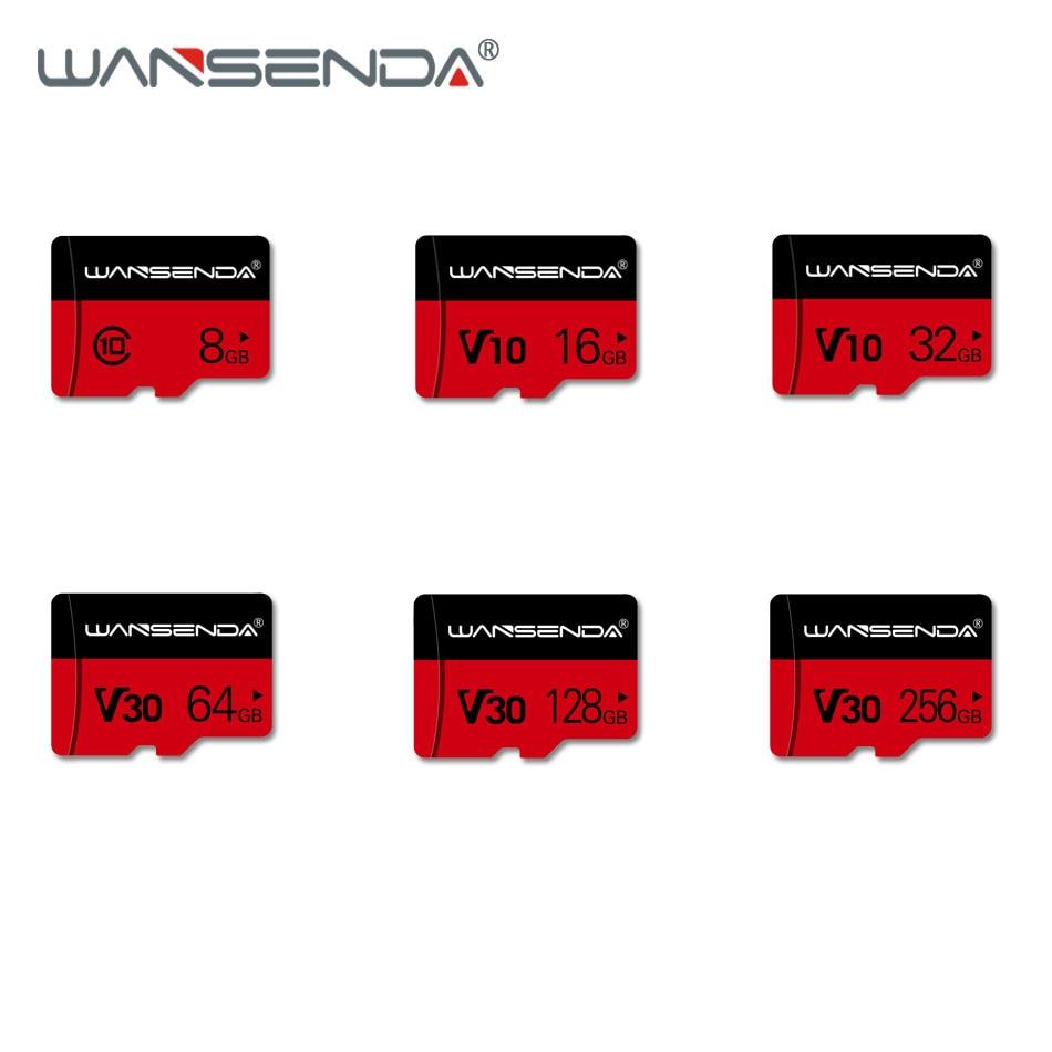 WANSENDA V30 Memory Card 128GB 64GB 32GB 16GB 8GB Micro Sd Card Class10 V10 Flash Card Memory Microsd TF Card For SmartPhone