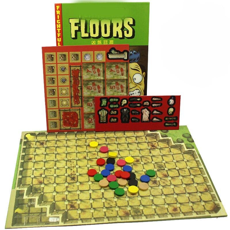 Хит продаж, страшные полы, страшная настольная игра Finstere Flure, легкая игра, 2-7 игроков, игра для вечеринки