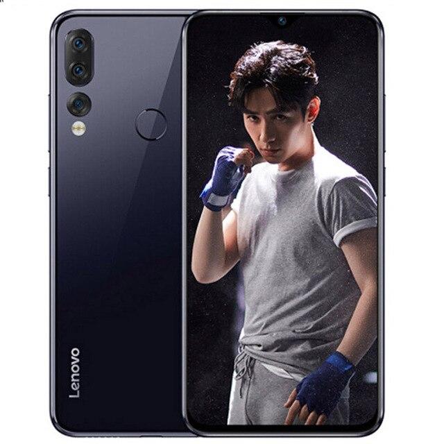 """Globale Rom Lenovo Z5S L78071 6 Gb 64 Gb Cellulare Android 6.3 """"Smartphone Triple Posteriore 16MP Macchina Fotografica Snapdragon 710 octa Core 3300 Mah"""