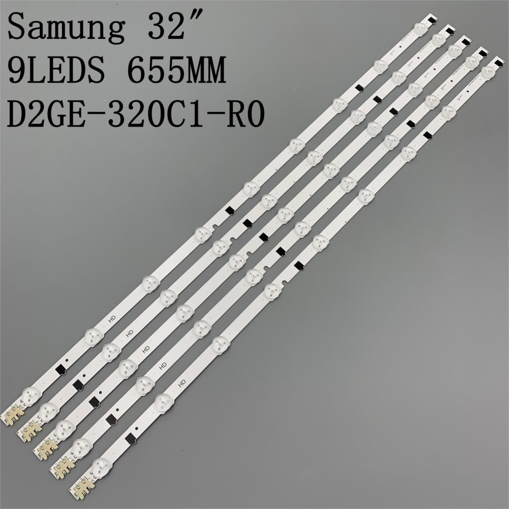 LED Backlight strip Lamp For D2GE-320C1-R0 UE32F5500 UE32F4000 D2GE-320C0-R0 bn96-28489a 2013SVS32 SSP 3735 9 Rev 0 3