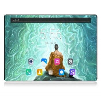 """2020 Black 6GB RAM 128GB ROM Gaming Tablet Octa Core 10"""" 8MP 1280x800 Full Screen Dual 2.5D Glass WIFI 4G FDD LTE Phone Pad"""
